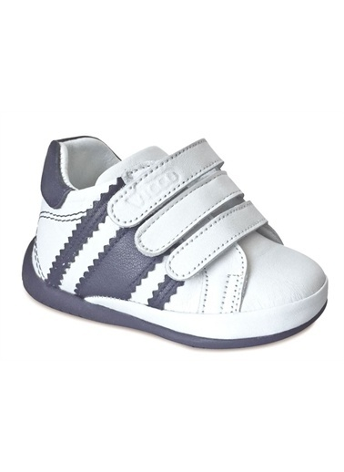 Vicco Vicco İlk Adim Deri Ayakkabi 918.E19K.005 Beyaz-Lacivert / 20 Beyaz